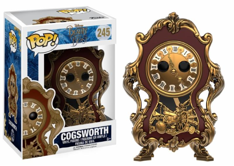 Photo du produit DISNEY FUNKO POP LA BELLE ET LA BETE FIGURINE COGSWORTH