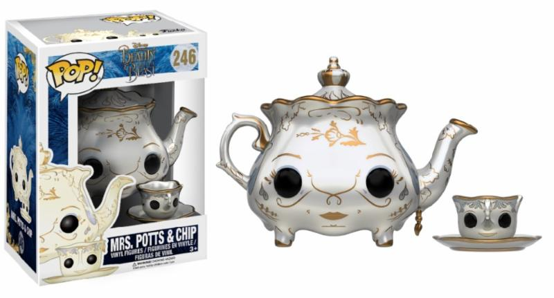 Photo du produit DISNEY FUNKO POP LA BELLE ET LA BETE FIGURINE MRS POTTS & CHIP