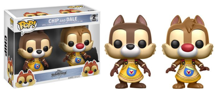 Photo du produit FUNKO POP KINGDOM HEARTS CHIP & DALE