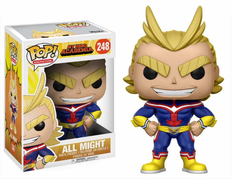 Photo du produit FIGURINE FUNKO POP MY HERO ACADEMIA ALL MIGHT 15 CM