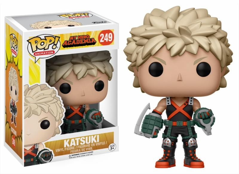 Photo du produit FIGURINE FUNKO POP MY HERO ACADEMIA KATSUKI