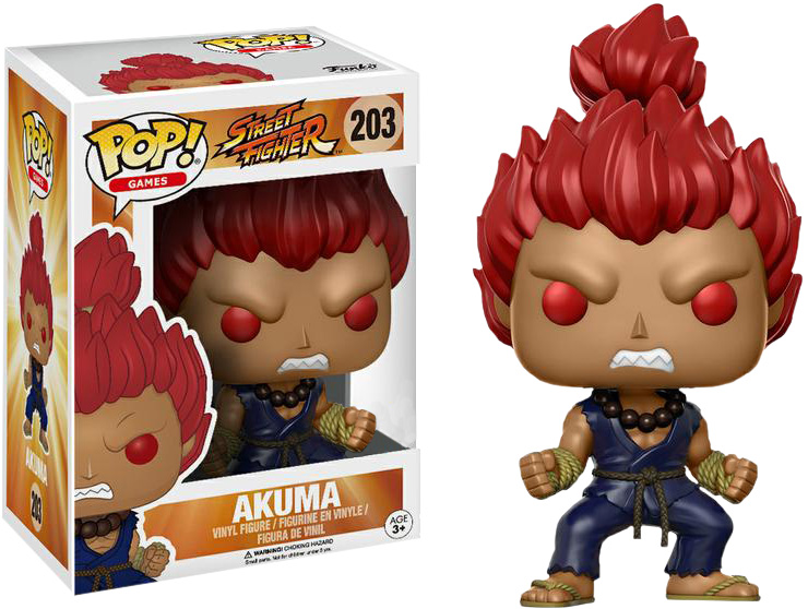 Photo du produit FUNKO POP STREET FIGHTER AKUMA LIMITED EDITION