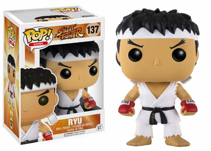 Photo du produit POP STREET FIGHTER RYU WHITE HEADBAND