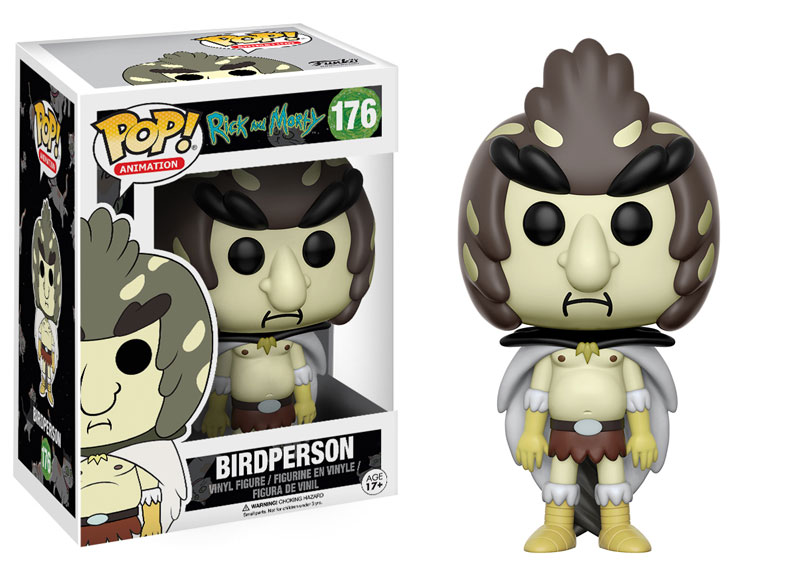 Photo du produit RICK & MORTY FUNKO POP BIRDPERSON
