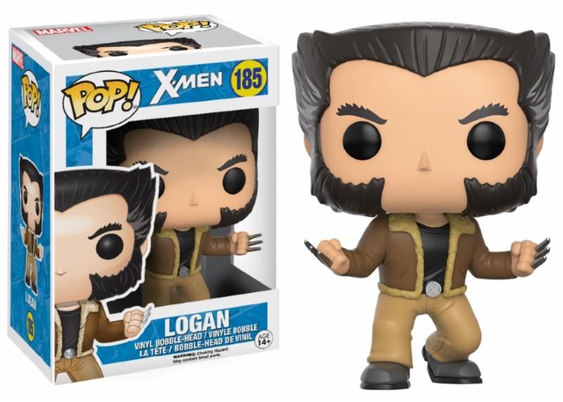 Photo du produit MARVEL X-MEN FIGURINE FUNKO POP! LOGAN