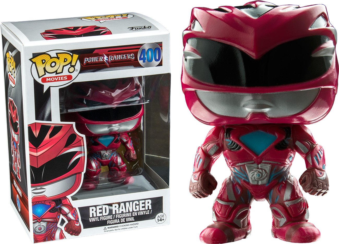 Photo du produit FIGURINE POP POWER RANGERS MOVIES RED RANGER