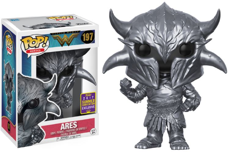 Photo du produit SDCC 2017 FUNKO POP ARES EXCLUSIVE - WONDER WOMAN