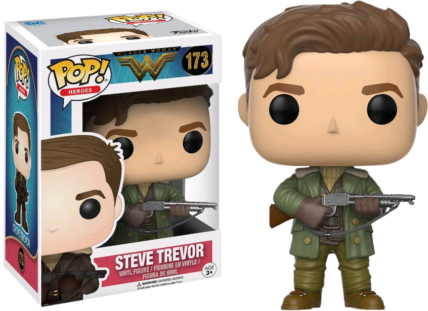 Photo du produit FUNKO POP WONDER WOMAN MOVIE STEVE TREVOR