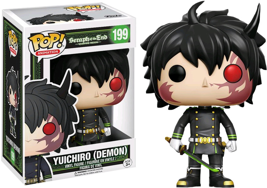 Photo du produit FUNKO POP SERAPH OF THE END LIMITED EDITION YUICHIRO DEMON (Emballage endommagé)