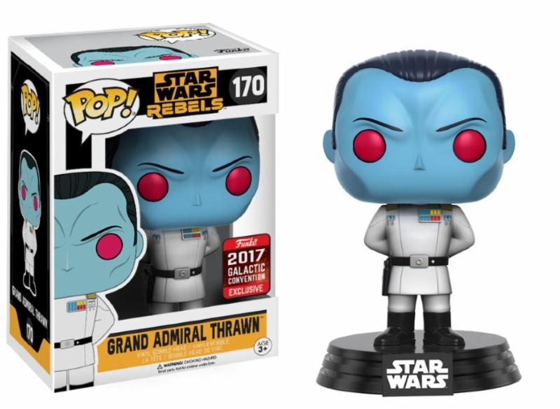 Photo du produit STAR WARS CELEBRATION FUNKO POP GRAND ADMIRAL THRAWN