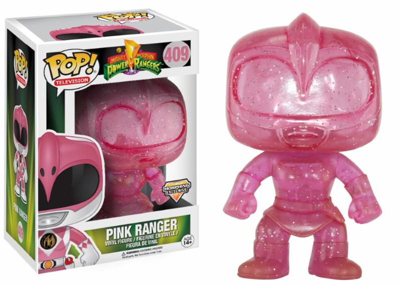 Photo du produit POWER RANGERS TELEPORTING RANGERS LIMITED EDITION PINK RANGER
