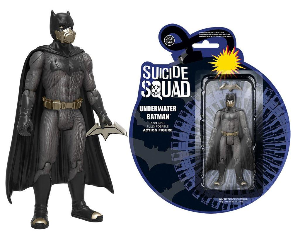 Photo du produit FIGURINE SUICIDE SQUAD UNDERWATER BATMAN 12 CM