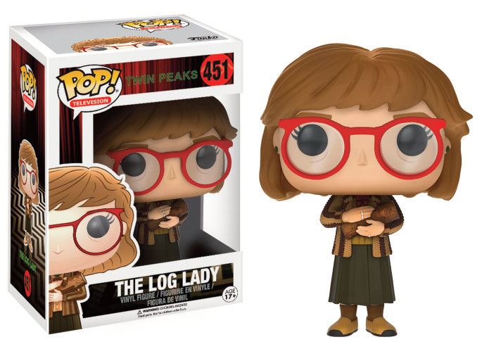 Photo du produit FUNKO POP TWIN PEAKS THE LOG LADY