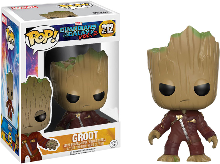 Photo du produit FUNKO POP YOUNG GROOT IN SUIT (ANGRY) LES GARDIENS DE LA GALAXIE VOL. 2