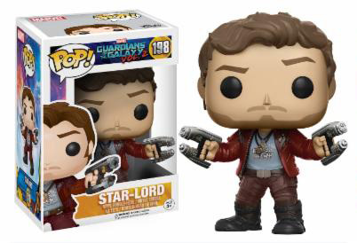 Photo du produit FUNKO POP LES GARDIENS DE LA GALAXIE VOL. 2 STAR-LORD