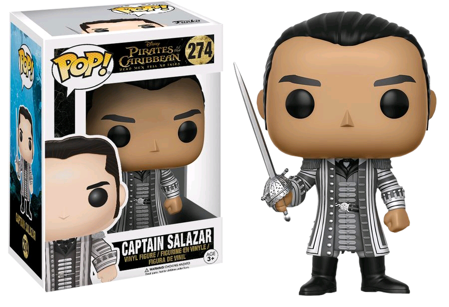 Photo du produit PIRATES OF THE CARIBBEAN DEAD MEN TELL NO TALES  FUNKO POP CAPTAIN SALAZAR (CHASE 1/6)