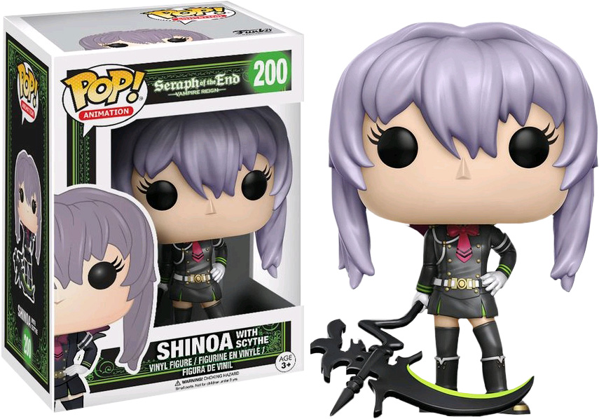 Photo du produit FUNKO POP SERAPH OF THE END LIMITED EDITION SHINOA WITH SCYTHE