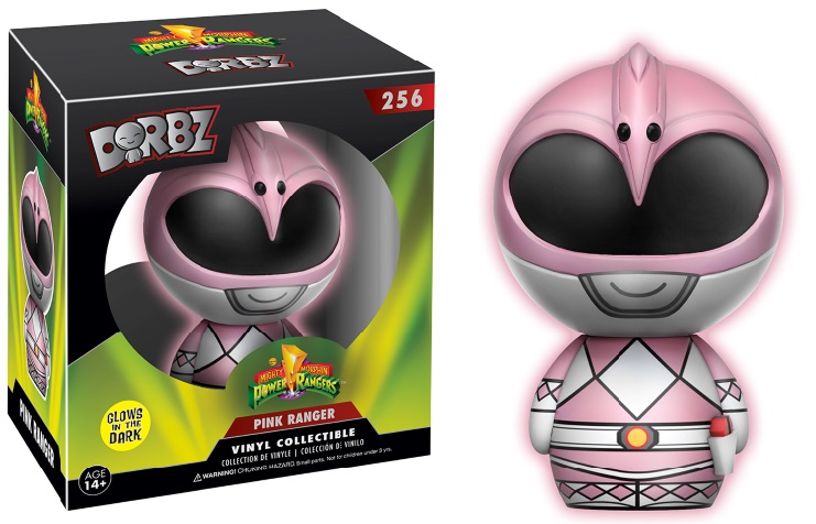 Photo du produit POWER RANGERS DORBZ FIGURINE PINK RANGER GITD