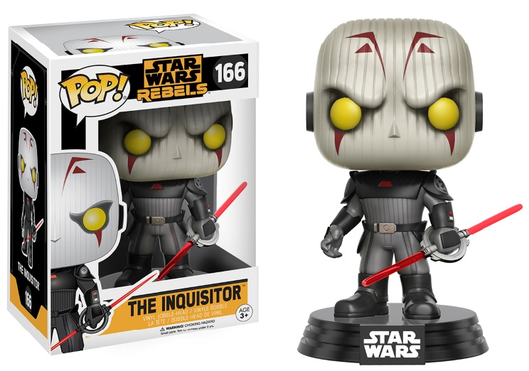 Photo du produit FUNKO POP STAR WARS REBELS THE INQUISITOR