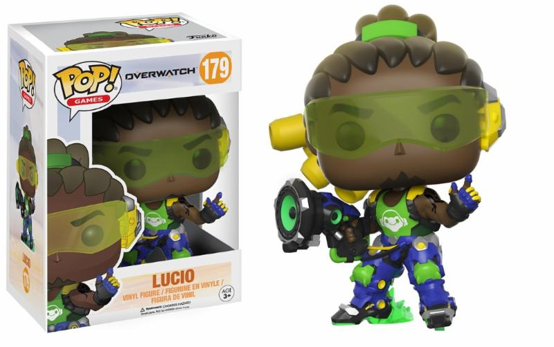 Photo du produit FUNKO POP OVERWATCH LUCIO