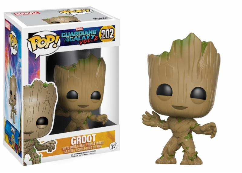 Photo du produit FUNKO POP YOUNG GROOT  LES GARDIENS DE LA GALAXIE VOL. 2