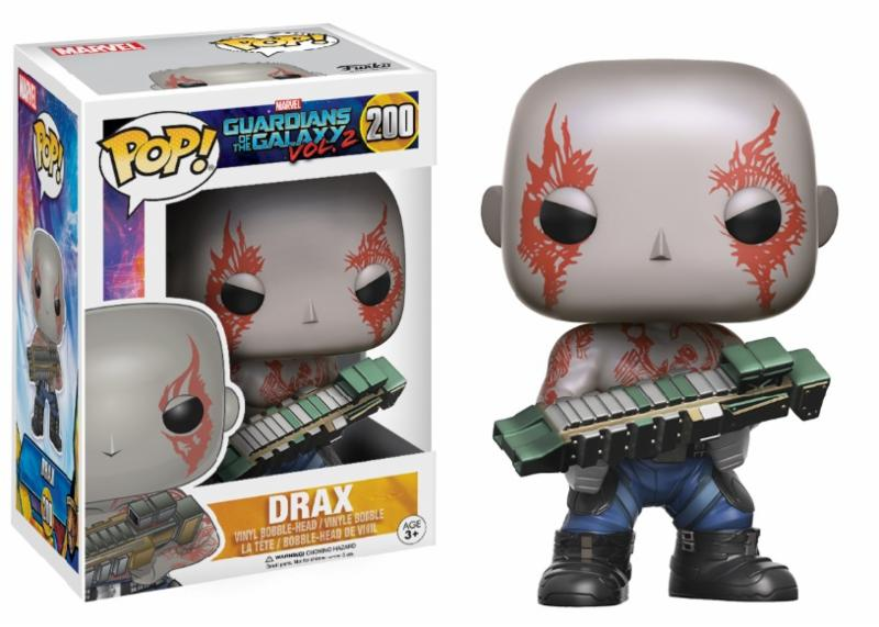 Photo du produit LES GARDIENS DE LA GALAXIE VOL. 2FIGURINE FUNKO POP DRAX