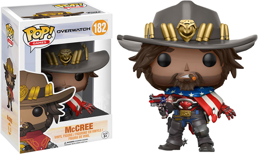 Photo du produit FUNKO POP OVERWATCH USA MCCREE LIMITED EDITION
