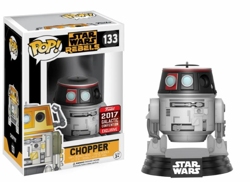 Photo du produit STAR WARS CELEBRATION FUNKO POP CHOPPER SWC