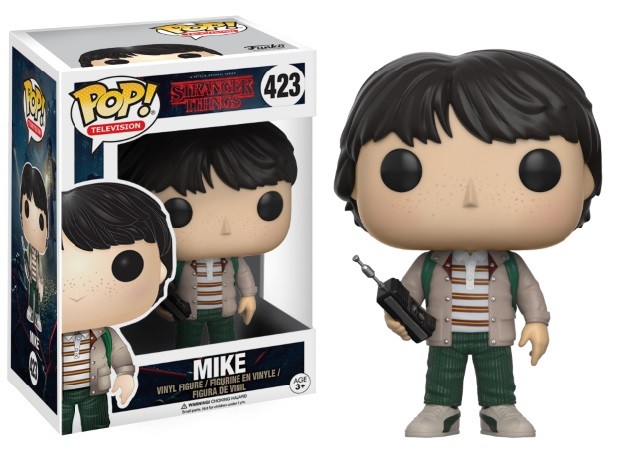 Photo du produit FIGURINE FUNKO POP STRANGER THINGS MIKE WITH TALKIE WALKIE
