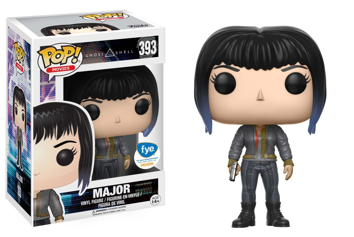 Photo du produit GHOST IN THE SHELL FUNKO POP MAJOR (BOMBER JACKET)