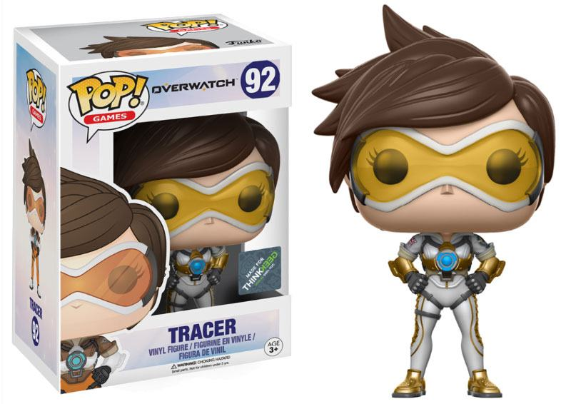 Photo du produit FUNKO POP OVERWATCH TRACER EXCLUSIVE