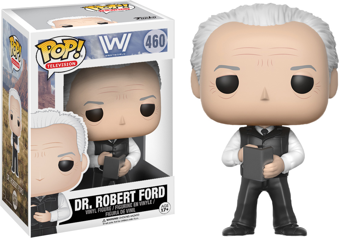 Photo du produit FUNKO POP WESTWORLD DR. ROBERT FORD