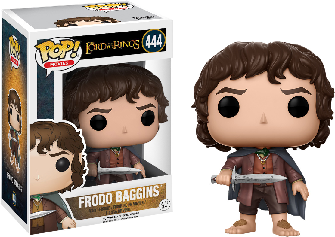 Photo du produit FUNKO POP LORD OF THE RINGS FRODO BAGGINS