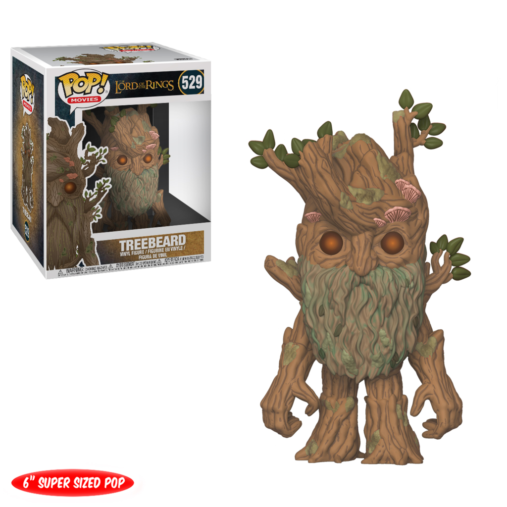 Photo du produit FUNKO POP LORD OF THE RINGS TREEBEARD 15CM