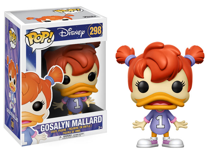 Photo du produit DARKWING DUCK FIGURINE FUNKO POP GOSALYN MALLARD