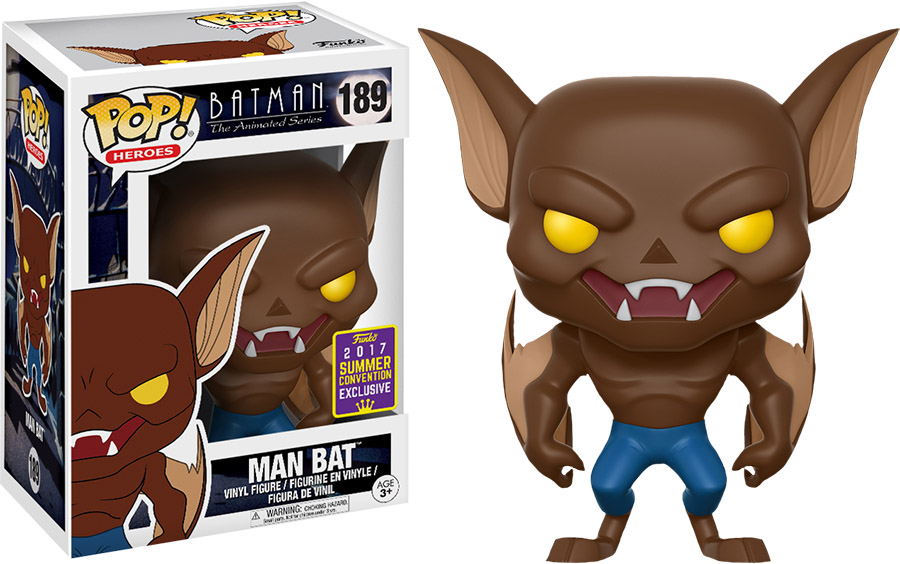 Photo du produit FUNKO POP MAN-BAT DC BATMAN ANIMATED SDCC