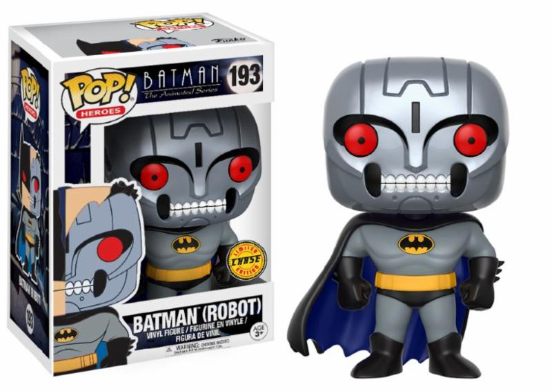 Photo du produit FUNKO POP BATMAN ROBOT CHASE VERSION EXCLUSIVE