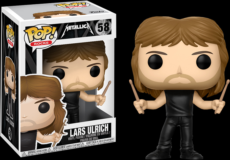 Photo du produit FUNKO POP METALLICA LARS ULRICH