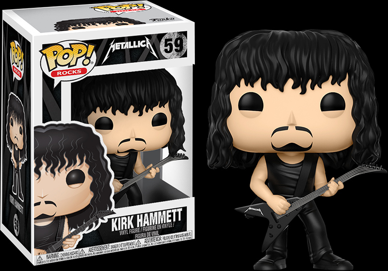 Photo du produit FUNKO POP METALLICA KIRK HAMMETT