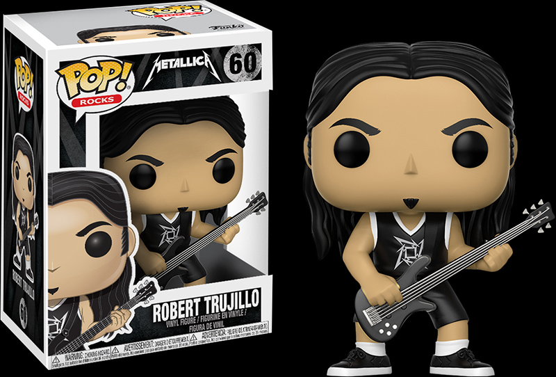 Photo du produit FUNKO POP METALLICA ROBERT TRUJILLO