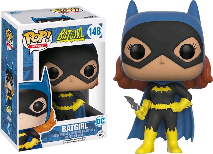 Photo du produit DC COMICS POP! HEROES FIGURINE SILVER AGE BATGIRL