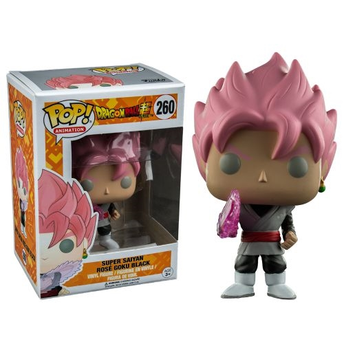 Photo du produit DBZ FUNKO POP DRAGONBALL SUPER SAIYAN ROSE GOKU EXCLUSIVE (EMBALLAGE ENDOMMAGE)