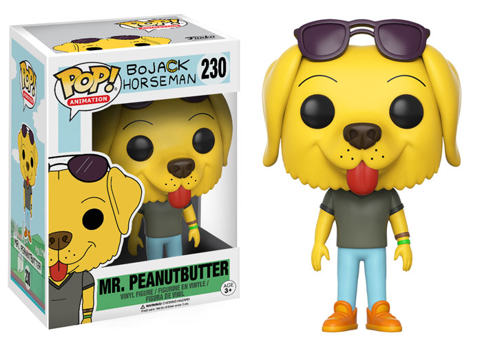 Photo du produit BOJACK HORSEMAN FUNKO POP MR. PEANUTBUTTER