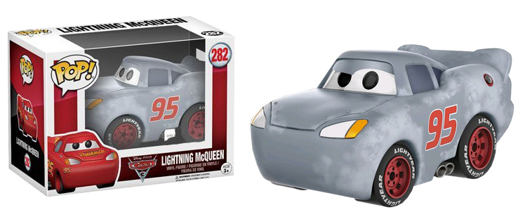 Photo du produit FUNKO POP CARS 3 LIGHTNING MCQUEEN GREY (PRIMED)