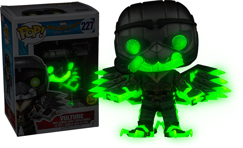 Photo du produit FUNKO POP VULTURE GITD - SPIDER-MAN HOMECOMING