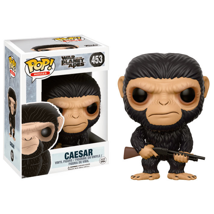 Photo du produit LA PLANETE DES SINGES SUPRÉMATIE POP! MOVIES VINYL FIGURINE CAESAR