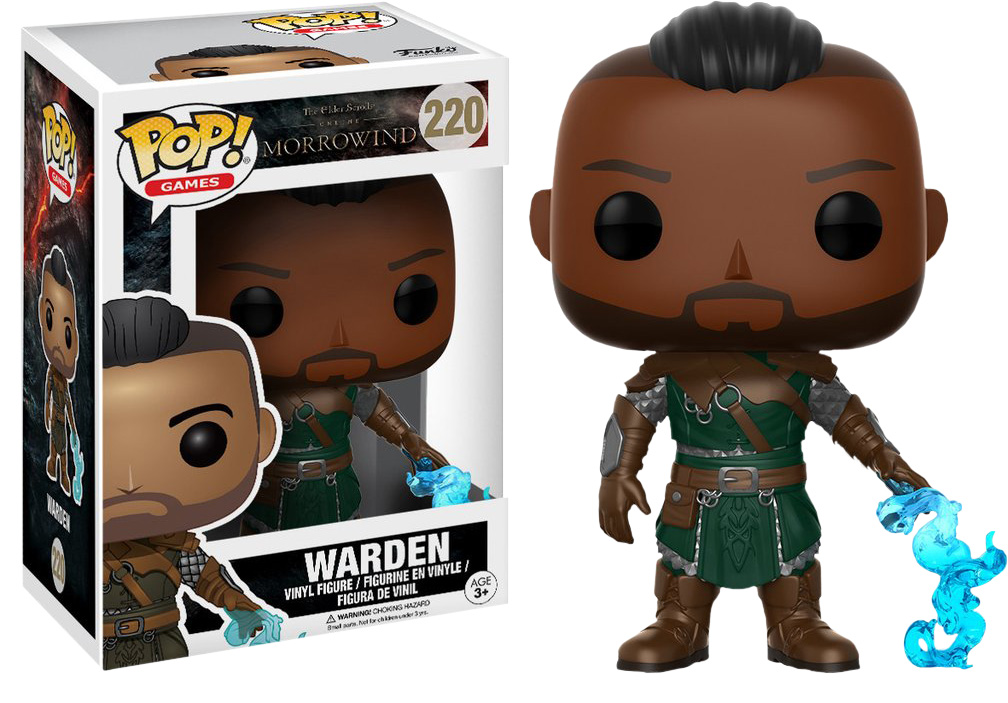 Photo du produit FUNKO POP THE ELDER SCROLLS ONLINE MORRORWIND WARDEN