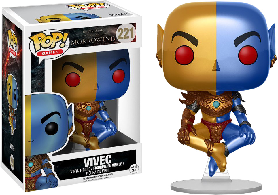 Photo du produit FUNKO POP THE ELDER SCROLLS ONLINE MORRORWIND FIGURINE VIVEC