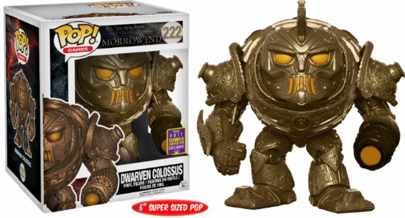 Photo du produit SDCC 2017 FUNKO POP DWARVEN COLOSSUS 15 CM EXCLUSIVE - MOROWIND