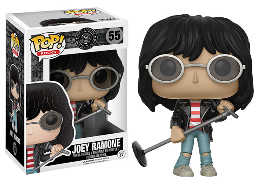 Photo du produit FUNKO POP RAMONES ROCKS VINYL JOEY RAMONE